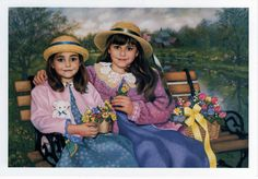 Chantal Poulin-May Baskets. Limited Edition Print (Canvas, Giclee)