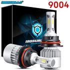 CREE 9004 HB1 LED Headlight Kit 1020W 153000LM Hi/Lo Beam Bulbs 6500K White