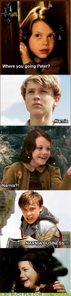 narnia is narnia business