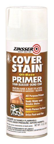 RustOleum 03608 Zinsser Spray Primer Sealer Cover Stain 13Ounce White by RustOleum ** Learn more by visiting the gardening image link.