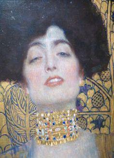 Gustav #Klimt e #Art Nouveau   Color #palette   Quadro Giuditta e ...