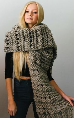 Knitting Pattern for Leo Scarf