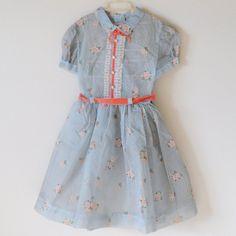 Pretty Vintage Dress. So so pretty.