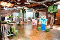 I've always thought that having some sort of geeky wedding would be really cool, but not being a Minecraft person, the idea of a Minecraft wedding has never crossed my mind. However, after seeing this couple's Minecraft wedding, I think Read More . Mine Craft Party, Minecraft Birthday Party, Boy Birthday, Birthday Ideas, Birthday Parties, Happy Birthday, Sacramento, Minecraft Room, Minecraft Stuff