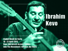 Ibrahim Kevo is a Syrian singer from Al-Hassakeh. Infusing his work with the roots of traditional Syrian music, he is one of few singers to have developed the Arab, Syriac, Armenian, Kurdish and Hazki traditions and to have enriched the musical heritage of Northern Syria. He is also famous for playing the typical instruments of this region, such as buzuq, saz and baghlama.