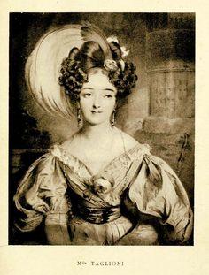 Italian/Swedish ballerina Marie Taglioni (1804-1884).