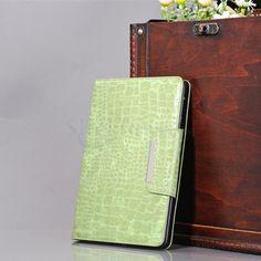 Fresh Green Crocodile Case for iPad Mini with PU Flip Back Cover  http://www.slickfuns.com/fresh-green-crocodile-case-for-ipad-mini-with-pu-flip-back-cover.html
