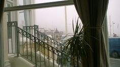 Royal Albion hotel, Brighton fab view of pier on a misty day.