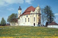 It all began with a 'miracle of tears' on 14 June 1738. The walking pilgrimage to the Church of the Scourged Saviour in Wies. Walking pilgrimage, Wieskirche church