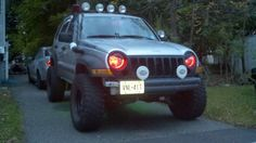 Lets See All Your Lifted Liberty KJ's!!! - Page 5 - JeepForum.com Jeep Cars, Jeep 4x4, Jeep Truck, Jeep Liberty Lifted, 2006 Jeep Liberty, Cool Jeeps, Cool Trucks, Adventure 4x4, Cherokee Sport