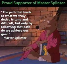 Master Splinter Wisdom.