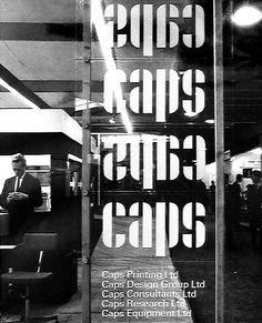 ken garland & associates:graphic design:caps group of companies