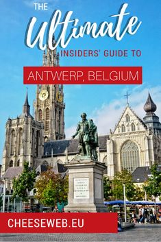 The ultimate travel guide to Antwerp, Belgium for your next European holiday. We share our itinerary for the best things to do in Antwerp Belgium including the best hotels in Antwerp, great Antwerp restaurants, the top tourist attractions, and even where Europe Travel Tips, Travel Guides, Travel Destinations, Travel Pics, Travel Goals, Travel Advice, European Vacation, European Travel, Malta