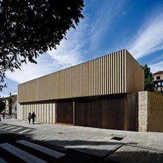 Sede para el COAL y su fundación cultural en Salamanca. Arquitectos: Carmen Martínez Arroyo + Rodrigo Pemjean