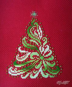 Obtain the very best hand embroidery ideas of layouts and patterns here for your. - Obtain the very best hand embroidery ideas of layouts and patterns here for your own imaginative mo - Cross Stitch Christmas Cards, Xmas Cross Stitch, Cross Stitch Cards, Simple Cross Stitch, Cross Stitching, Cross Stitch Embroidery, Christmas Cross Stitch Patterns, Cross Stitch Alphabet Patterns, Cross Stitch Designs