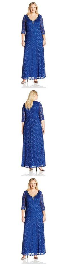 Plus Size Alex Evenings 4351165 Dress Size 20 Color Silver