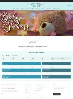 Teal Door, Portfolio Logo, Space Wedding, Shots, Website, Logos, Party, Logo, Parties