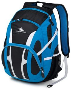 High Sierra Composite Backpack, Blue Print/Black/White, 19.5x13x8-Inch - Click image twice for more info - See a larger selection of school backpacks at http://kidsbackpackstore.com/product-category/school-backpacks/ - kids, kids backpack, school backpack, everyday backpack, school bag, gift ideas, teens backpacks.