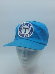e4ce3fe4e5ac4 K Brand Trucker Hat Tabor   Co Cash Grain Farm Elevator Corn Patch Blue  Snapback
