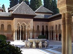 For some, the Moorish Revival style was a vehicle for performative exoticism. But for others, it provided another way of looking at themselves and their place in America. The post The Moorish Revival Style in America appeared first on Mogulesque. Alhambra Spain, Granada Spain, Cadiz, Moorish Revival, Greece Today, Masonry Construction, Places In America, Grenade, Islamic Architecture