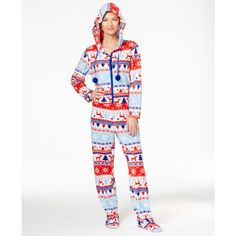 fde2704a14d6 Pj Couture Hooded Footed Christmas Jumpsuit (1