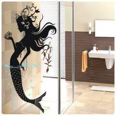 LOVE THIS! --  Decorative Wall Paper Sticker Mermaid ML38