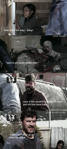 It sounds so sad. It's not sad, it's a ZOMBIE! Z Nation, All Tv, Bbc America, Mans World, New Shows, In The Flesh, Best Shows Ever, Teenager Posts, Movies Showing