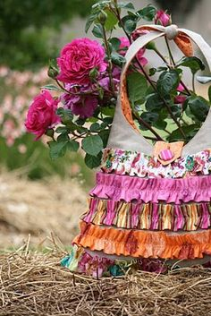 Bloom: In the nick of time easy diy bag to make fir yourself or a gift.