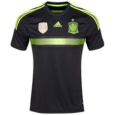 Spain 2014 Away Shirt (Black). Available from Kitbag.com