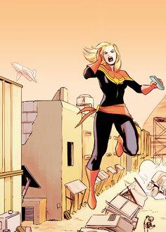 Carol Danvers in Captain Marvel #5 (2014)