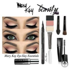 To #slay the day !!One of the many possibilities to look #fashiongoals #eyemakeup #marykay  link about to get his look 👆🏼