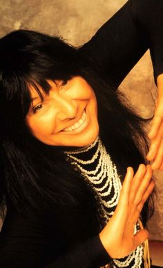 My auntie Buffy Sainte-Marie! She's so beautiful. I wanna someday be able to be as strong of a woman as she is. <3