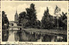 Pocztówka wysłana w 1939 roku. - Partie am Holzgraben