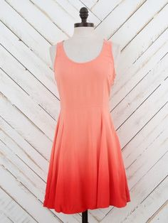 Altar'd State Ombre Sunset Dress
