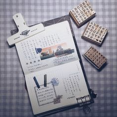 "10 Likes, 3 Comments - 夕霧_Aoi (@ichigo.ll) on Instagram: ""SEP.18/20 入了#禮拜文具房 的字母印章,小小的很可爱  #手帳 #mdnotebook #mdノート #md一日一頁 #toolstoliveby"""
