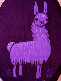 Llama.. PURPLE llama!