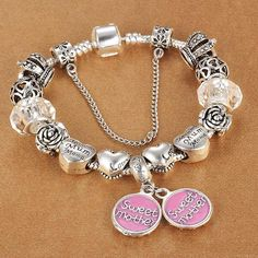 Sweet Mother Charm Bracelets – Sen Fashions #bracelet #womanfashion #womanfashions #womenfashion #womenfashions #mothersday