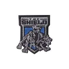 "The Shield ""Hounds of Justice"" Patch ❤ liked on Polyvore featuring accessories and wwe"