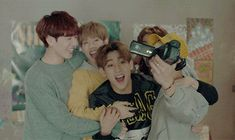 Yugyeon, Mark, BamBam, Youngjae, Jackson. just being adorable