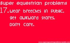 Super Equestrian Problems : 6 of 7