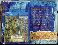 Prayer or Art Journal idea | Journal Craft Inspirations