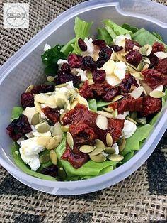Fruit Salad, Cobb Salad, Feta, Salad Recipes, Potato Salad, Lunch Box, Cooking, Ethnic Recipes, Kitchen