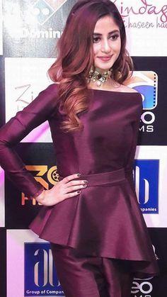 Sajal Ali at Zindagi Kitni Haseen Hay (Karachi Premiere)