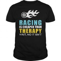 Racing Therapy T-Shirts & Hoodies