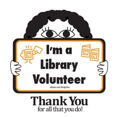 There are lots of important jobs to keep a library open, full of fun programs, and in working order. Library Store, Library Inspiration, Community Service, Volunteers, Eye, Reading, Search, Books, Libros