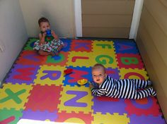Sweetening the Small Stuff: Baby-Proof the Patio with Foam ABC Mats