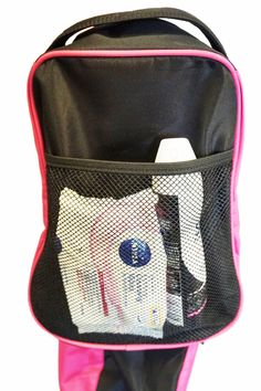 The Gym Buddy has a stretch pocket on the back of the bag - perfect for  carrying workout essentials, like deodorant, to stay fresh! c80bf374cb