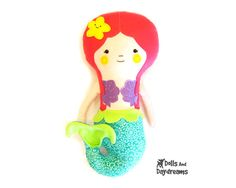 And we can't forget the mermaids...Mermaid Doll