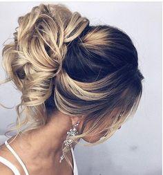 Long wedding updos and hairstyles from Elstile / http://www.deerpearlflowers.com/new-long-wedding-hairstyles-updos/4/