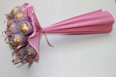 Delicioso bouquet de Ferrero Rocher.